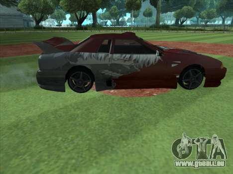 The Ghoul Elegy Vinyl (Beta) für GTA San Andreas linke Ansicht