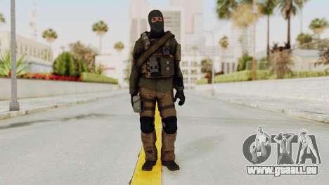 CoD AW KVA LMG für GTA San Andreas zweiten Screenshot