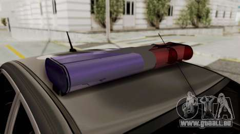 Toyota Hilux 4WD 2015 Georgia Police für GTA San Andreas Rückansicht