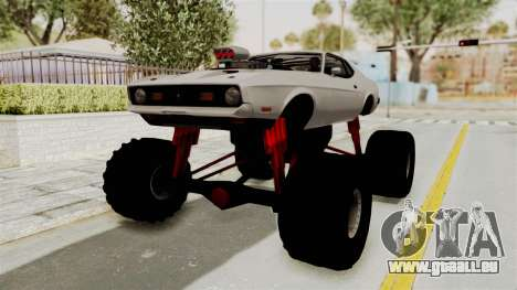 Ford Mustang 1971 Monster Truck pour GTA San Andreas