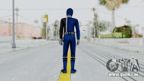 Power Rangers S.P.D - Blue pour GTA San Andreas troisième écran