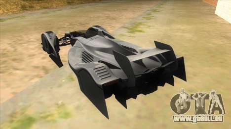RedBull X2010 pour GTA San Andreas sur la vue arrière gauche