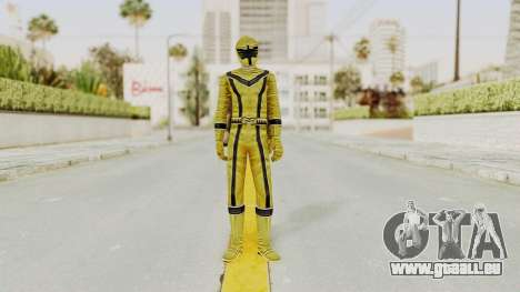 Power Rangers Mystic Force - Yellow für GTA San Andreas zweiten Screenshot