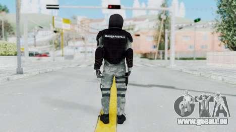 La Gendarmerie, Qui Émeute De La Peau pour GTA San Andreas troisième écran