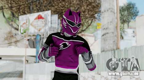 Power Rangers Jungle Fury - Wolf pour GTA San Andreas
