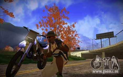 ENB Series by TURBO MIX pour GTA San Andreas deuxième écran