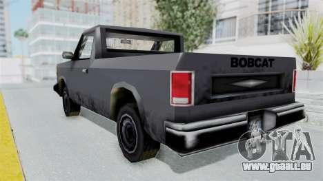 Beta VC Bobcat pour GTA San Andreas laissé vue