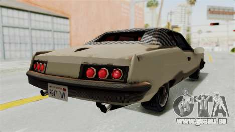 Lobo Custom für GTA San Andreas zurück linke Ansicht