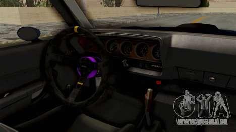 Plymouth Hemi Cuda 1971 Drag pour GTA San Andreas vue arrière