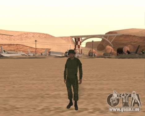 Privaten motorisierten Gewehr Truppen für GTA San Andreas dritten Screenshot