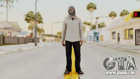 Middle East Insurgent v3 pour GTA San Andreas deuxième écran