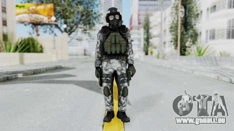 Black Mesa - HECU Marine Medic v2 pour GTA San Andreas deuxième écran
