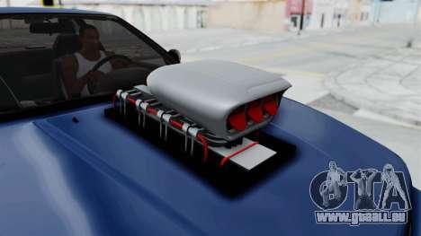Nissan Silvia S13 Monster Truck pour GTA San Andreas vue arrière