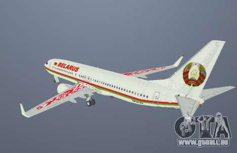 Boeing 737-800BBJ2 EW-001PA für GTA San Andreas