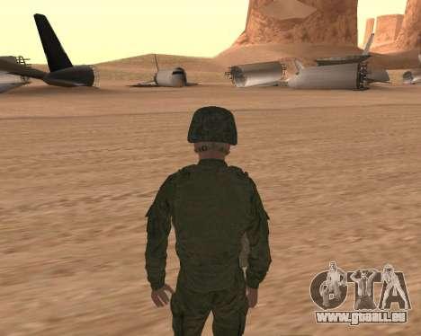 Privé d'infanterie motorisée de troupes pour GTA San Andreas quatrième écran