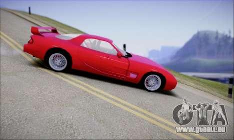 ZR - 350 pour GTA San Andreas laissé vue
