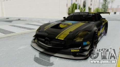 Mercedes-Benz SLS AMG GT3 PJ7 pour GTA San Andreas moteur