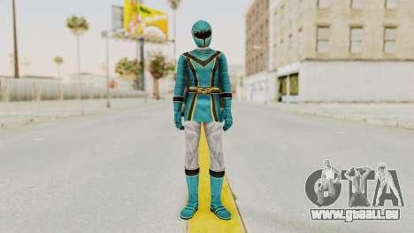 Power Rangers Mystic Force - Blue pour GTA San Andreas deuxième écran
