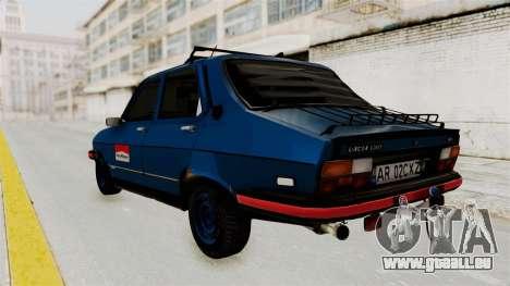 Dacia 1310 MLS Modell 1985 pour GTA San Andreas laissé vue