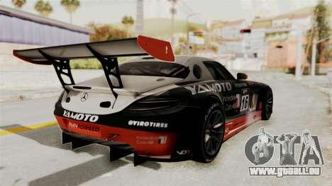 Mercedes-Benz SLS AMG GT3 PJ2 pour GTA San Andreas moteur