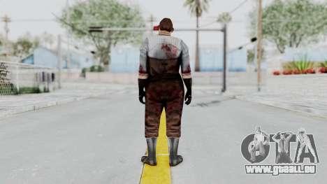 Manhunt 2 - Janitor für GTA San Andreas dritten Screenshot