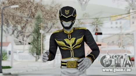 Power Rangers Megaforce - Black für GTA San Andreas