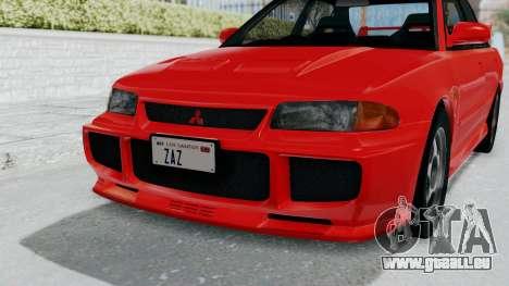 Mitsubishi Lancer Evolution III 1996 (CE9A) für GTA San Andreas Seitenansicht