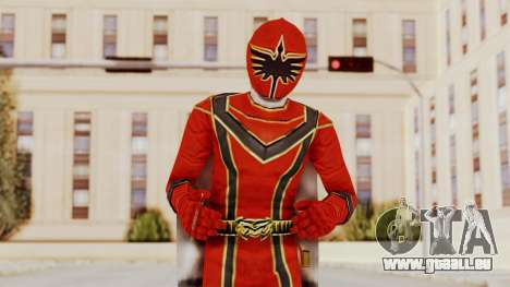 Power Rangers Mystic Force - Red für GTA San Andreas