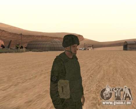 Privé d'infanterie motorisée de troupes pour GTA San Andreas deuxième écran