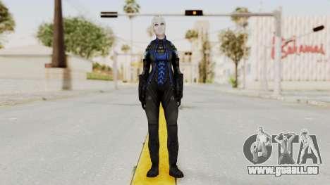 Mass Effect 3 Liara DLC Alt Costume pour GTA San Andreas deuxième écran