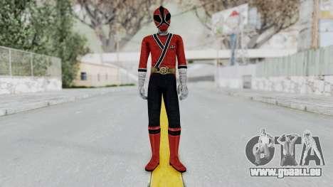 Power Rangers Samurai - Red für GTA San Andreas zweiten Screenshot