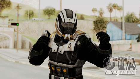 Mass Effect 3 Shepard Ajax Armor with Helmet pour GTA San Andreas