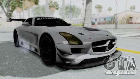 Mercedes-Benz SLS AMG GT3 PJ7 pour GTA San Andreas