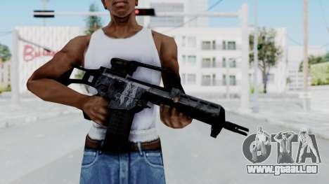 G36E Valkyrie Paintjob pour GTA San Andreas