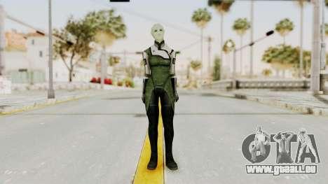 Mass Effect 2 Shiala für GTA San Andreas zweiten Screenshot