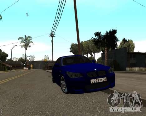 BMW M5 E60 v1.0 für GTA San Andreas