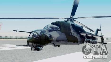 Mi-24V Czech Air Force 7354 für GTA San Andreas