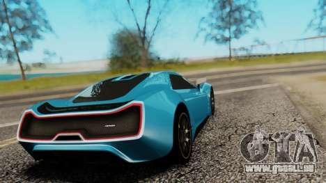 Trion Nemesis RR v0.1 Beta pour GTA San Andreas laissé vue
