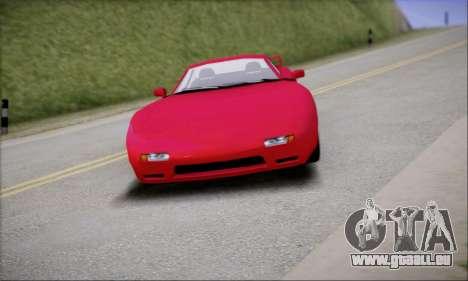ZR - 350 pour GTA San Andreas sur la vue arrière gauche