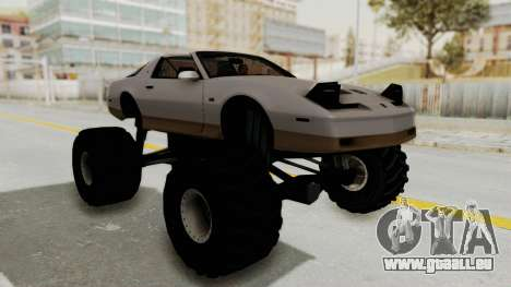 Pontiac Firebird Trans Am Monster Truck 1982 pour GTA San Andreas