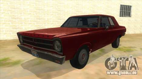 1965 Plymouth Belvedere 2-door Sedan für GTA San Andreas