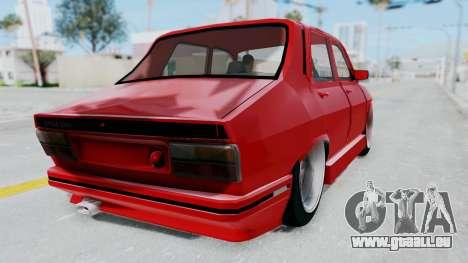 Dacia 1310 Tuning pour GTA San Andreas laissé vue