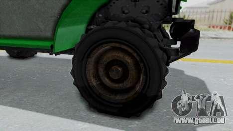 GTA 5 Bravado Duneloader Cleaner Worn IVF für GTA San Andreas Rückansicht