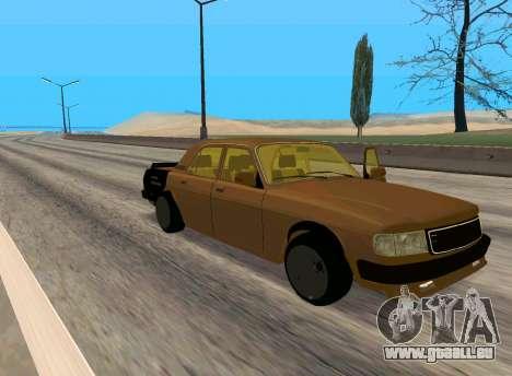 Wolga 3110 Classic Battle für GTA San Andreas linke Ansicht