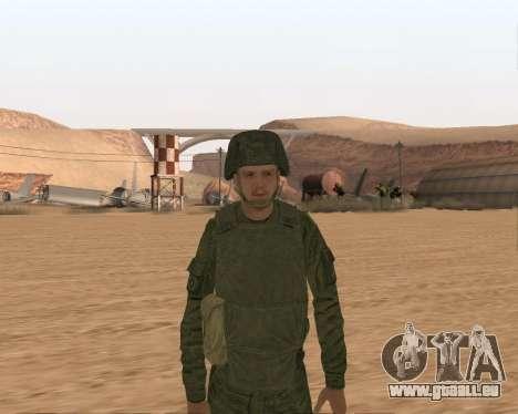 Privé d'infanterie motorisée de troupes pour GTA San Andreas