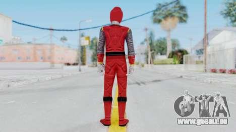 Power Rangers Ninja Storm - Red pour GTA San Andreas troisième écran