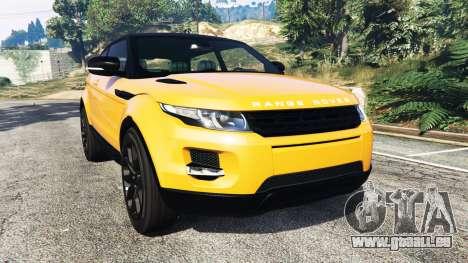 Range Rover Evoque pour GTA 5
