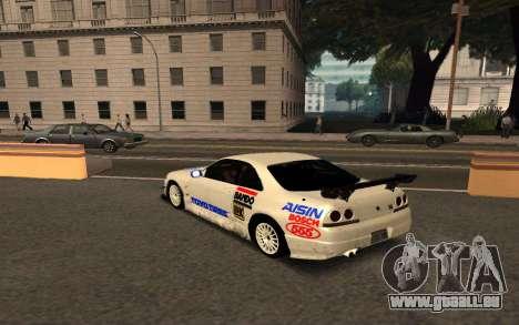 Nissan Skyline R33 Tunable für GTA San Andreas Innenansicht