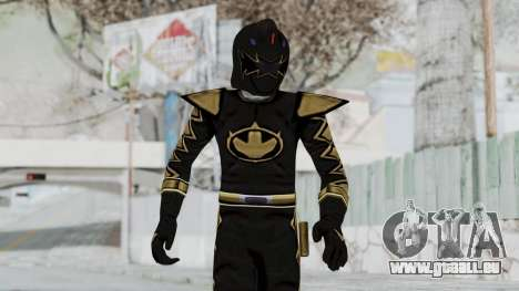 Power Rangers Dino Thunder - Black pour GTA San Andreas