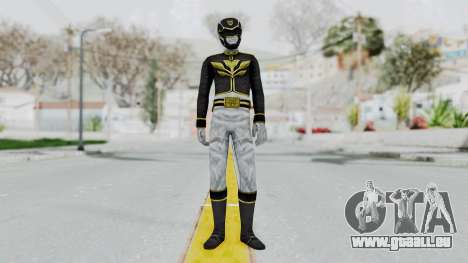 Power Rangers Megaforce - Black für GTA San Andreas zweiten Screenshot
